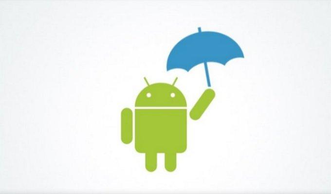 android-unbrella-dark-sky