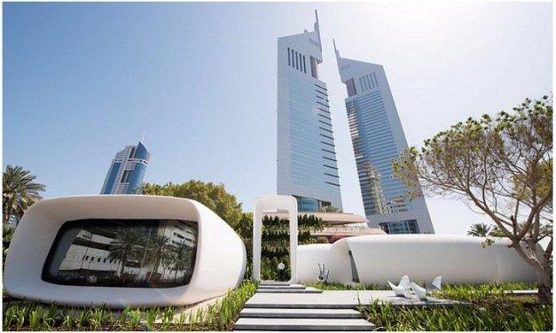 Dubai construye la primer oficina con impresión 3D
