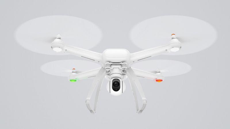Xiaomi anuncia Mi Drone, con vídeo 4k 455 dólares y con vídeo 1080p 375 dólares