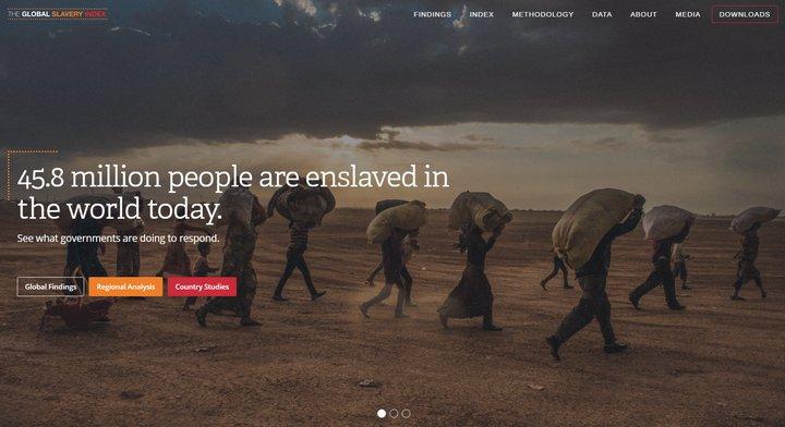 La esclavitud moderna es una brutal realidad en todo el mundo, este reporte lo confirma