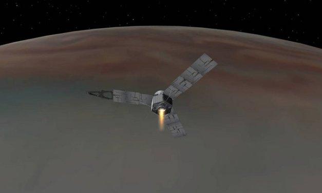 La sonda espacial Juno de la NASA luego de casi 5 años arriba a la órbita de Júpiter