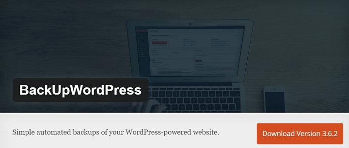 BackUpWordpress WordPress