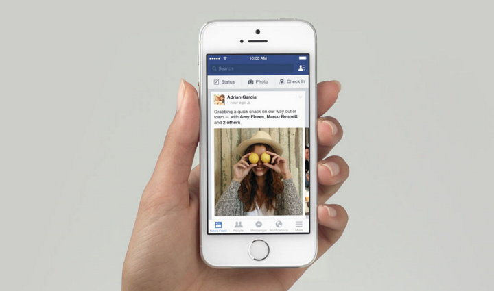 Facebook - Feed de Noticias - Tendencias
