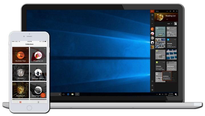 Microsoft Cache, una nueva app para copiar, gestionar y sincronizar contenido a través de distintos dispositivos