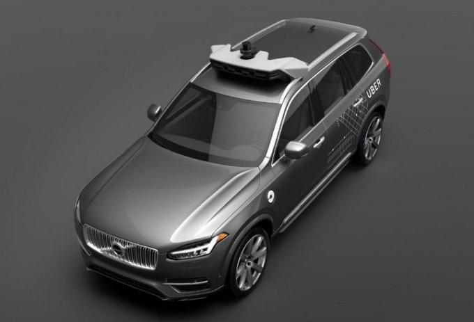 Vehículos Autónomos - Uber - Volvo XC90 SUV - Conducción Autónoma