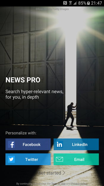 Microsoft News Pro Android