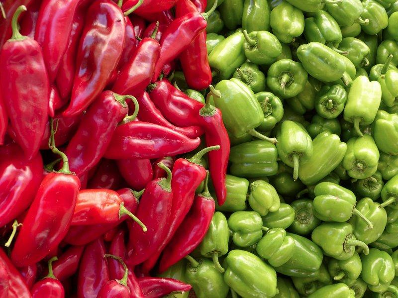 Pixabay - Peppers - Recetas de Cocina