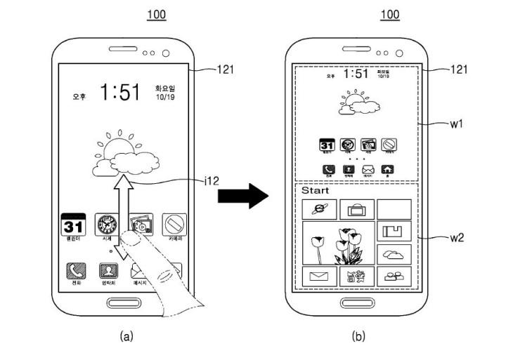 Samsung patenta un smartphone con dos sistemas operativos