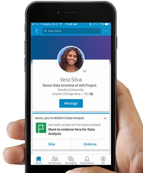 LinkedIn Aptitudes y Validaciones