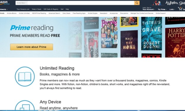 Amazon introduce Prime Reading, con 1.000 libros gratis para los miembros de Amazon Prime