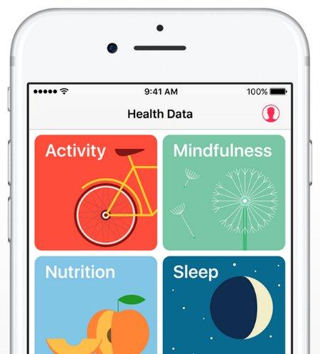 iOS 10 - Aplicación de Salud