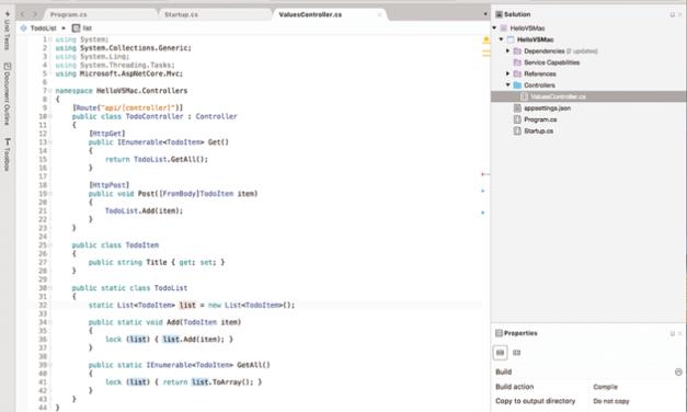 Microsoft anuncia el lanzamiento de Visual Studio para Mac… al menos por un rato