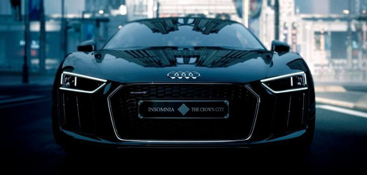 Audi R8 Star of Lucis - Final Fantasy XV