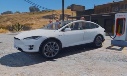 Ya se puede manejar un Tesla Modelo X en GTA V