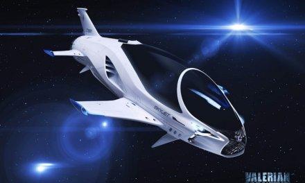 Lexus y EuropaCorp desarrollan Skyjet, un vehículo espacial para una película de ciencia ficción