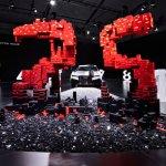 Montaje de LEGO y Audi en Miami, muestra uno de los beneficios de los vehículos autónomos