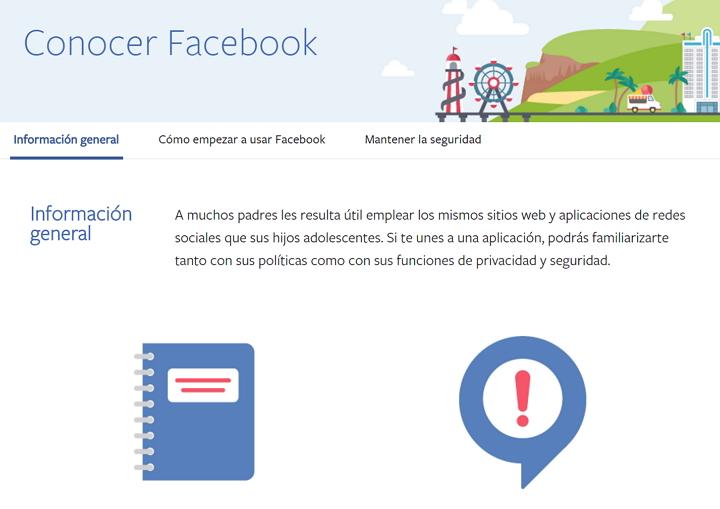 Portal para Padres de Facebook