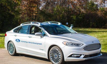 Muestran la próxima generación en desarrollo del Ford Fusion Hybrid autónomo #CES2017