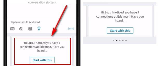 LinkedIn Iniciadores de Conversación