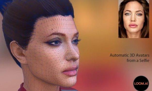 Loom.ai permite crear un avatar 3D animado que muestra expresiones faciales, con solo tomarse un selfie