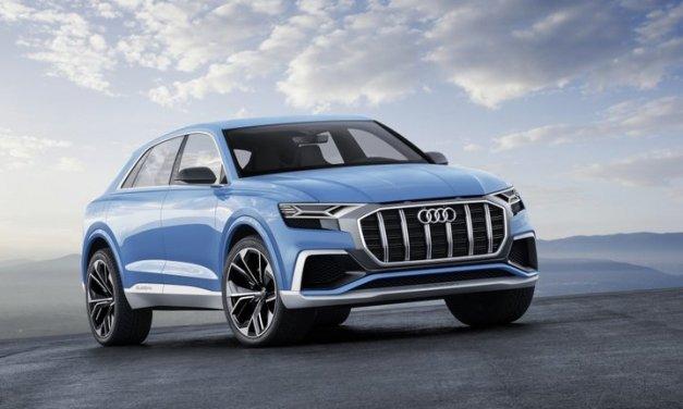 Audi Q8 Concept, estupendo prototipo que será la base Audi Q8 2018