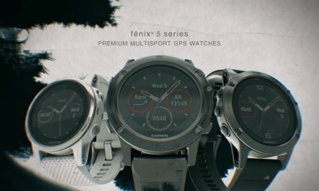Garmin Fénix 5, nueva línea de relojes inteligentes para quienes gustan de las aventuras al aire libre #CES2017