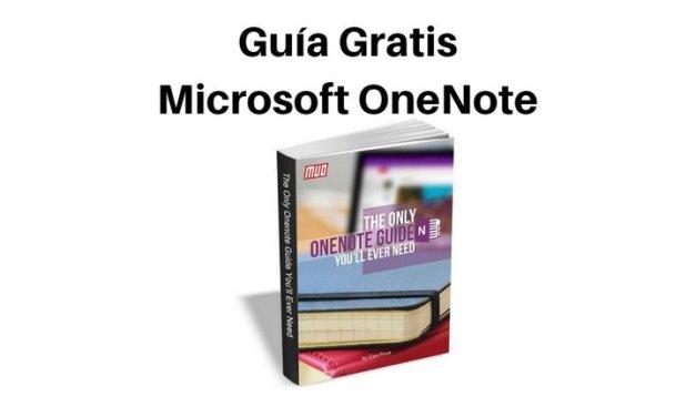 Guía Gratis: Microsoft OneNote