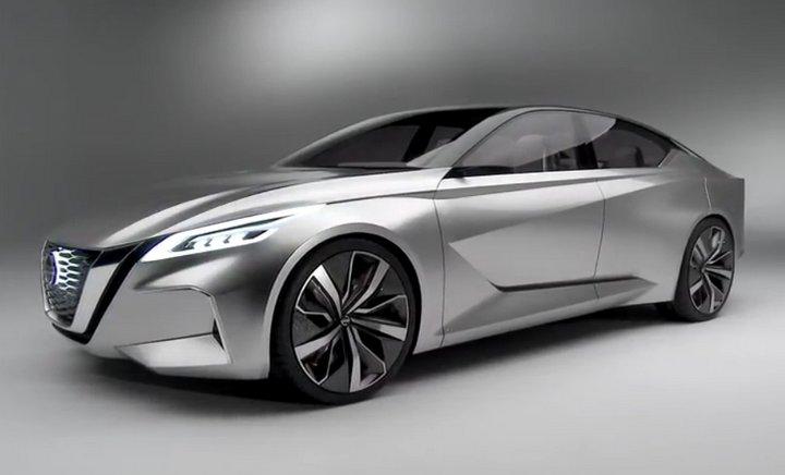 Nissan Vmotion 2.0, el concepto del sedán del futuro