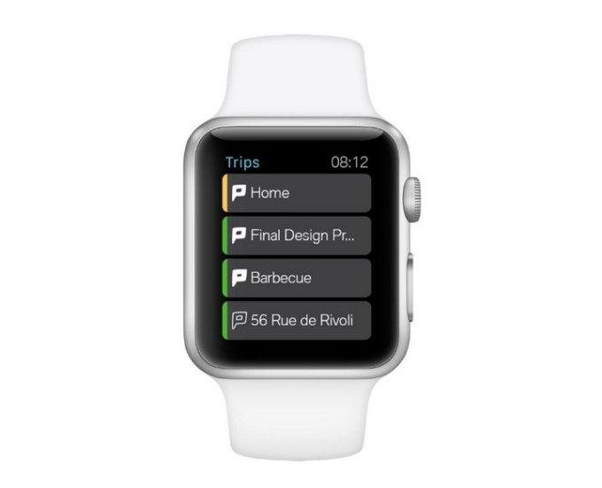 BMW - Coche Como Servicio - Smartwatch