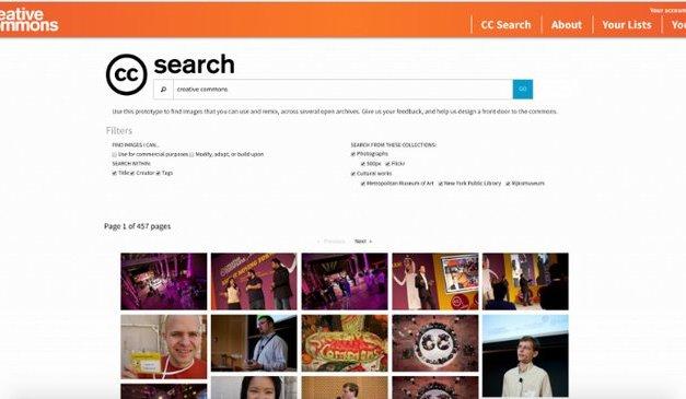 Creative Commons anuncia un nuevo y más útil buscador de imágenes CC