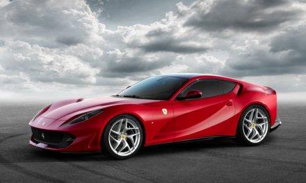 La nueva berlinetta de 12 cilindros Ferrari 812 Superfast será presentada en el Salón del Automóvil de Ginebra