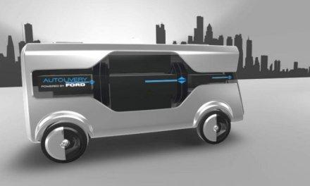La visión de Ford de la Ciudad del Mañana: Concepto Autodelivery #MWC17
