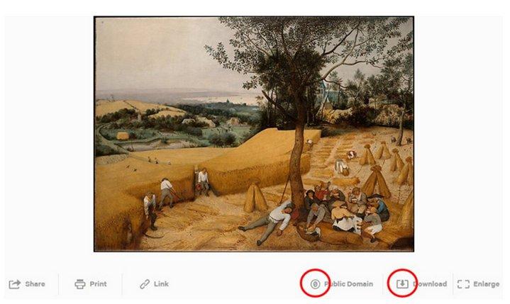 Metropolitan Museum of Art - Public Domain - Imágenes con Licencia CC0