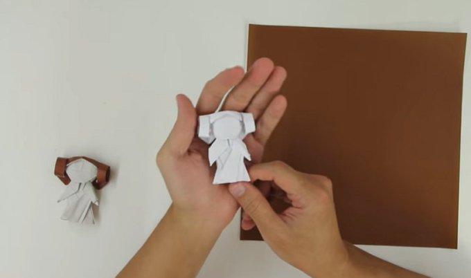 Tadashi Mori - Origami Princesa Leia