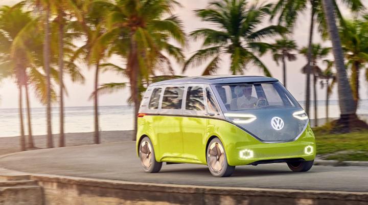 El Volkswagen I.D. Buzz, el nuevo vehículo eléctrico de la familia I.D llega a Europa y será presentado en Ginebra