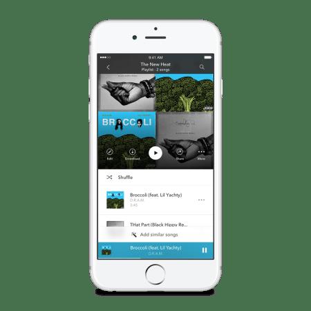 Pandora Premium Add Similar Songs