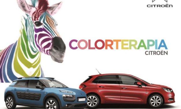 Citroën ofrece la ColorTerapia para ayudar al bienestar físico y mental de sus clientes