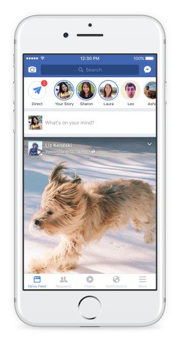 Historias de Facebook - Facebook Historias