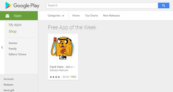 Google Play - Free App of the Week
