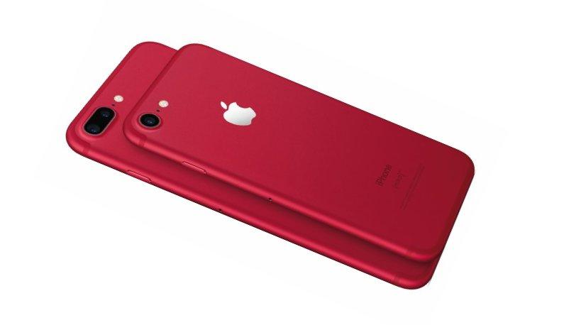 Iphone 7 - iPhone 7 Plus RED
