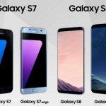 Comparando especificaciones entre los smartphones Galaxy S8-S8+ y los Galaxy S7-S7+