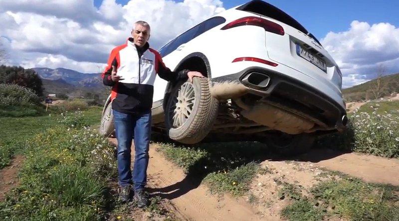 Porsche explica por qué su Porsche Cayenne es el vehículo total