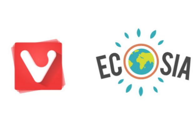 Buscando con Ecosia en el navegador Vivaldi, ayudarán a reforestar el planeta