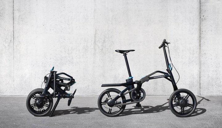 Bicicleta Híbrida Plegable Peugeot eF01