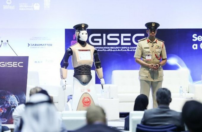 Dubai Media Office - Robocop