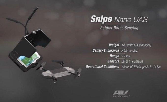 AeroVironment Snipe Nano Quad