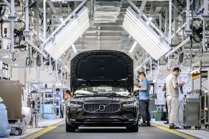 Volvo S90 - Planta de Daqing China