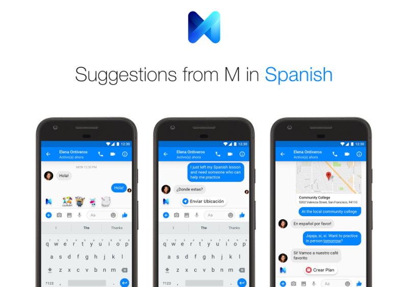 Facebook Messenger - M - Sugerencias en Español
