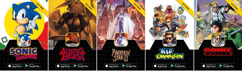 Ya Se Pueden Descargar Gratis Los 5 Juegos Retro De Sega Para Ios Y