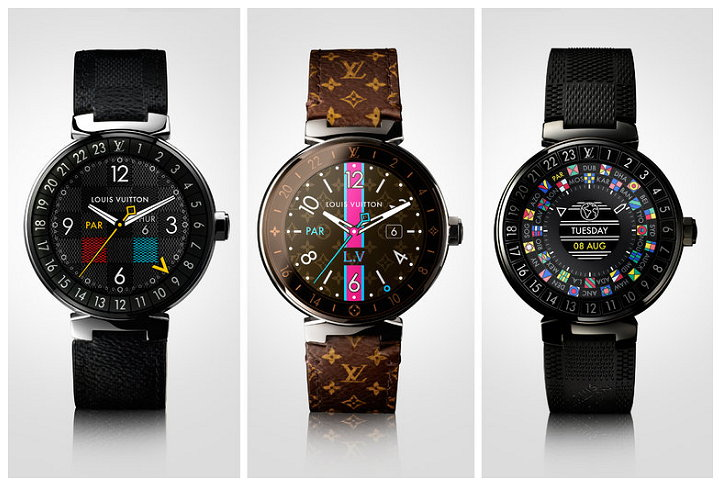 Louis Vuitton - Tambour Horizon - Android Wear Oreo